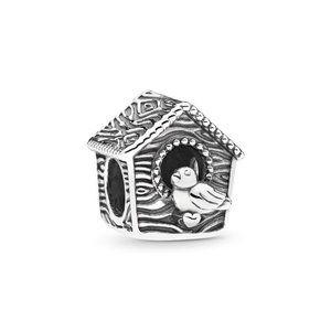 Pandora Spring Bird House Charm